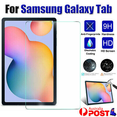 AU9.43 • Buy For Samsung Galaxy Tab S6 Lite 10.4  SM-P610/615 Tempered Glass Screen Protector
