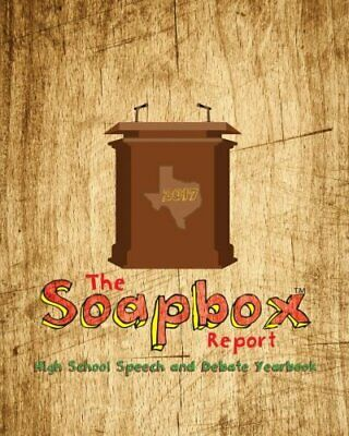 The Soapbox Report - Yearbook Of High School Speech And Debate (2017).New<|,<| • 30.37£