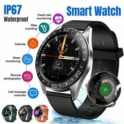 AU49.19 • Buy Bluetooth Smart Watch Fitness Blood Pressure Heart Rate Full Touch Waterproof AU