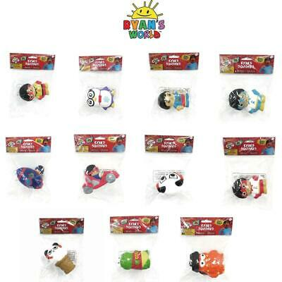 AU12.90 • Buy Ryan's World Soft 'n' Slo Squishies Squishy Toy Collection!
