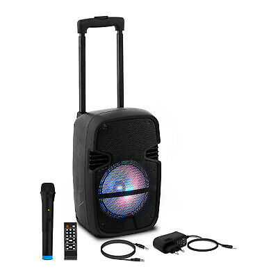 Portable PA System Mobile Speaker Sound System Wireless Mic Remote Control 15W • 72£