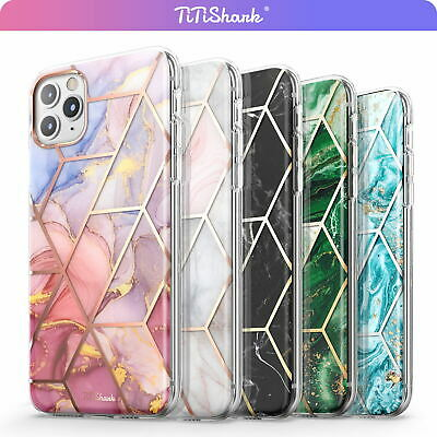 AU10.79 • Buy For IPhone 11 Pro Max XR XS MAX 8 7 Plus SE Case Clear Marble Shockproof Cover