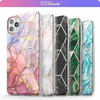 AU11.99 • Buy For IPhone 11 Pro Max XR XS MAX 8 7 Plus SE Case Clear Marble Shockproof Cover