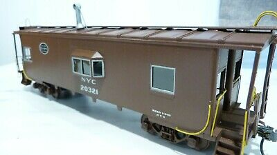 $ CDN336.14 • Buy O Scale Brass 2 Rail New York Central Bay Window Caboose. No Box.