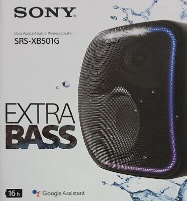 AU350 • Buy Sony Extra Bass Bluetooth Wireless Speaker Black SRS-XB501G Google Assistant