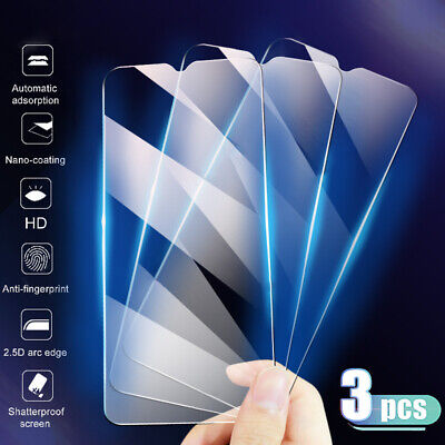 AU3.09 • Buy Premium Tempered Glass Screen Protector Cover Clear Front Film For Smart Phone