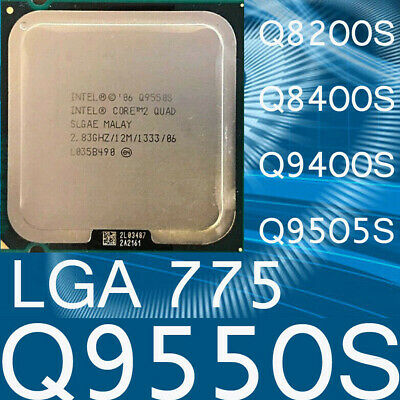 $ CDN26.51 • Buy Intel Core 2 Quad Q9550S Q8200S Q8400S Q9400S Q9505S LGA775 CPU Processor