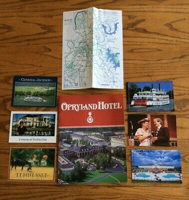 $2.99 • Buy Vintage Opryland Souvenirs Postcards 90's Minnie Pearl Roy Acuff Conway Twitty