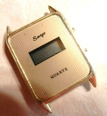 $7 • Buy Sanyo Digital  LCD Quartz Vintage Watch Collectible Parts/Repair Might Work ??