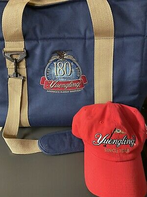 $0.99 • Buy Yuengling Branded Red Hat And 180th Anniversary Soft Cooler