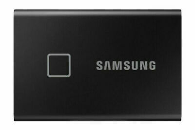 Samsung Portable SSD T7 Touch 1TB Mobile External Solid State Drive [Black] UK • 159.99£