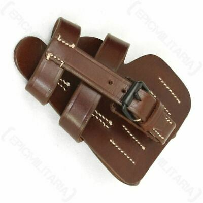 German Paratrooper German Holster For P08 Pistol - Dark Brown • 24.99£