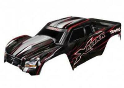 AU167.99 • Buy Traxxas X-Maxx Monster Truck Pre-Painted Body Red 7711R