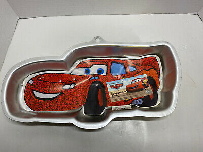 Wilton DISNEY CARS Cake Pan PIXAR RACE CAR LIGHTNING McQUEEN Item 2105-6400 • 6.35£
