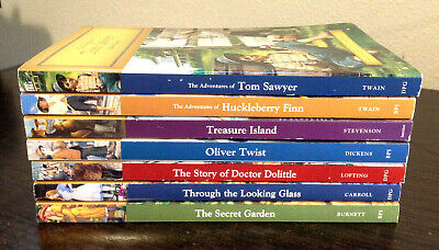 $11.99 • Buy Lot Of 7 Children's Junior Classics For Young Readers Reading Level 3
