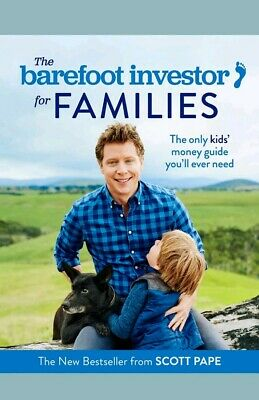 AU15.95 • Buy BOOK -The Barefoot Investor For Families: The Only Kids' Money Guide | Aus Stock