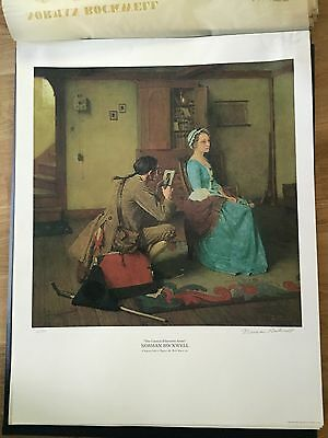 $ CDN2022.34 • Buy Vtg Norman Rockwell Signed Prints Limited Edition Americana Eyvind Disney Gift