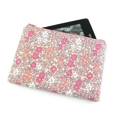 AU26 • Buy Pink Country Flower Kindle Padded E-Reader Case, Paperwhite Sleeve, Amazon Oasis