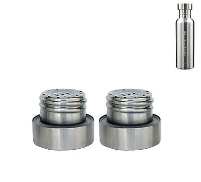 Filter Caps For GCM Stainless Steel Alkaline Water Bottle (2 Pieces) • 10.70£
