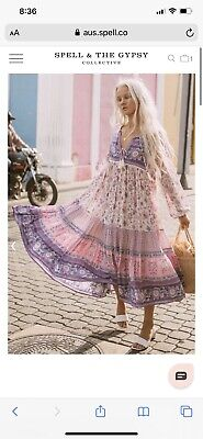 AU415 • Buy Spell And The Gypsy Collective Portobello Road Boho Dress Size S