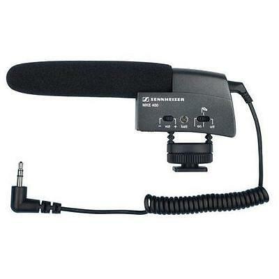 $77 • Buy Sennheiser MKE 400 Condenser Cable Professional Microphone