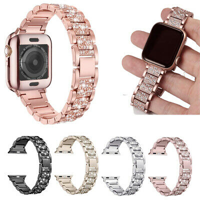 $ CDN12.99 • Buy Stainless Steel Metal Band For Women For Apple Watch Series 1 / 2 / 3 / 4 / 5