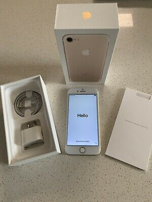 AU281 • Buy Apple IPhone 7 - 128GB - Rose Gold - Immaculate