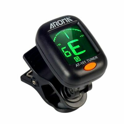 $ CDN8.99 • Buy AROMA AT-101 Portable Clip-on Guitar Bass Violin Ukulele Tuner Tuning Auto Off