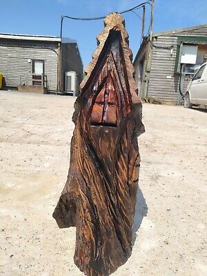 Sussex Chainsaw Carving Fairy  Home Or Garden  Sculpture Rustic Arts Decoration • 120£