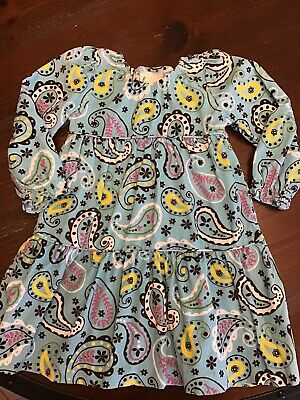 $8 • Buy VGUC Boutique Paisley Dress By Zuccini Size 2T