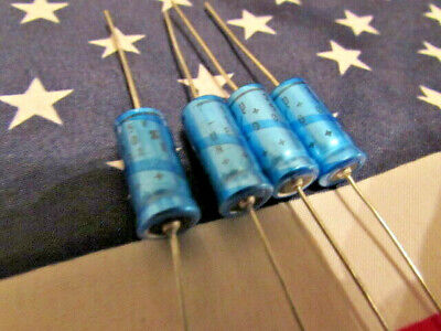 £7 • Buy 150uF 25V Philips Electrolytic Axial Capacitor Long Life -10% +50% USA 4 Pieces