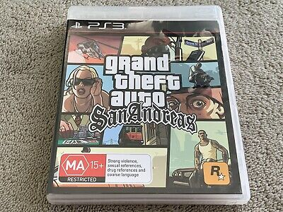 AU59.99 • Buy Grand Theft Auto: San Andreas (Sony PlayStation 3, PS3)