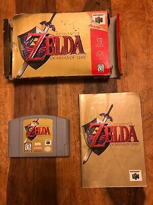 AU39.95 • Buy N64 The Legend Of Zelda Ocarina Of Time NTSC Boxed With Manual