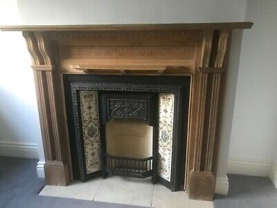 £490 • Buy Victorian Style Cast Iron Fireplace