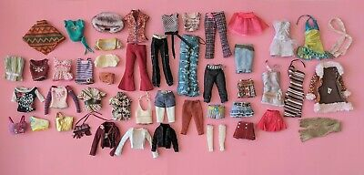 $40 • Buy 47-pc My Scene Fashionista, Fashion Fever Barbie Doll Outfit Clothing Lot Mattel