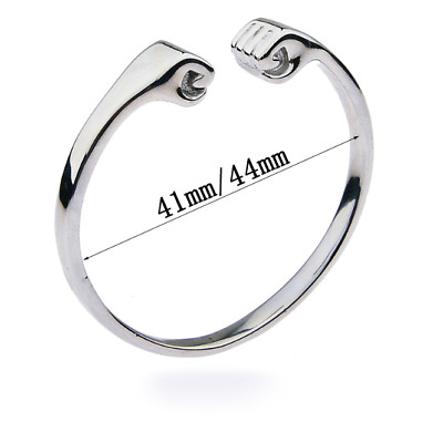 £7.49 • Buy 304 Stainless Steel Men's Open Ring Delay Lock Male Chastity Ring