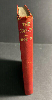 $14.95 • Buy The Odyssey Of Homer - Translated By Alexander Pope HC Early 1900s Illustrated