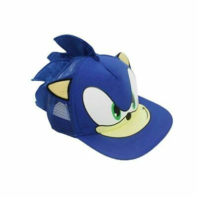 Super Sonic The Hedgehog Hat Cap For Youth Boys Kids Children Cosplay Cartoon  • 8.72£