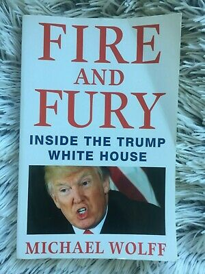 AU10 • Buy Fire And Fury: Inside The Trump White House By  Michael Wolff [good Condition]