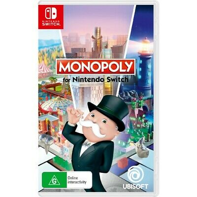 AU24 • Buy MONOPOLY - Nintendo Switch