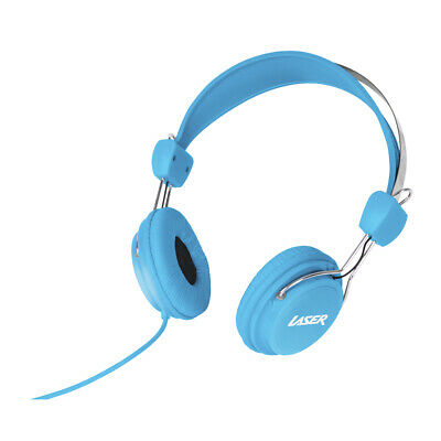 AU9.95 • Buy Headphones Stereo Kids Friendly Colourful Blue