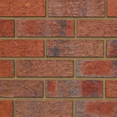 400 Per Pack, Ibstock Calderstone Claret Brick 65mm, Wall, Extension, Bricks • 341.30£