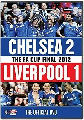 FA Cup Final 2012 - Chelsea Vs V Liverpool DVD - FAST FREE UK P&P • 54.99£