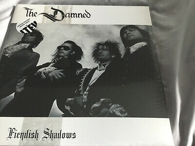 Damned, The - Fiendish Shadows NEW & Sealed 2 X LP Ltd Edition White Vinyl • 24.99£
