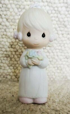 Vintage Ceramic Figurine By Enesco Entitled Bridesmaid. From The Precious Moment • 10£