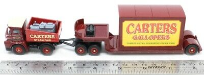 Foden Ballast Tractor With Trailer And Container Load,Carters Steam Fair 1:76 00 • 14.50£