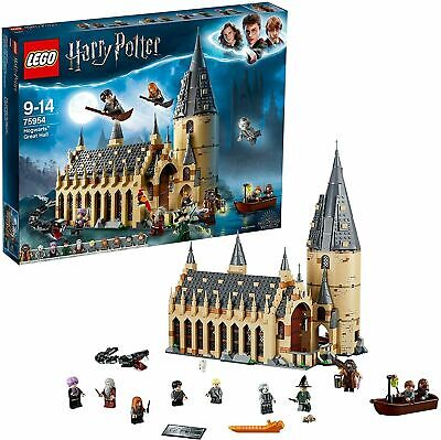 AU175.99 • Buy LEGO Harry Potter Hogwarts Great Hall 75954 Playset Toy
