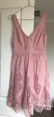 AU20 • Buy Forever New Size 6 Dress - Baby Pink