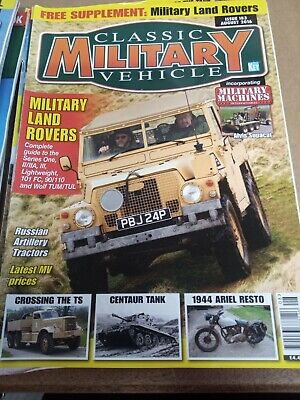 Classic Military Vehicle Magazine Issue 183 August 2016 • 2£