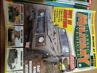 Classic Military Vehicle Magazine Issue 179 April 2016 • 2£